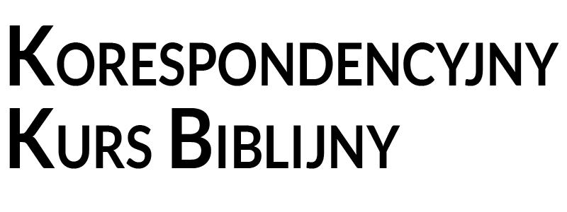 Korespondencyjny Kurs Biblijny
